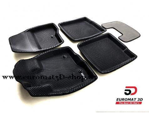 3D коврики Euromat3D EVA в салон для Ford Explorer (2015-) № EM3DEVA-002217